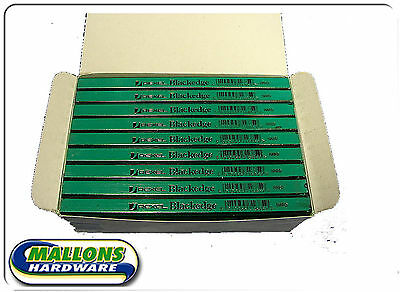 Rexel Blackedge Hard Grade Green Pencils Box of 72 Carpenter Bricklayer 34322