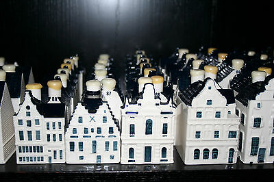 Choose 10 KLM (BOLS) Blue Delft's houses to start or complete your collection
