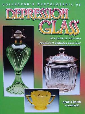 BOEK : DEPRESSION GLASS (art deco glas,book,30s,40s,livre verrerie