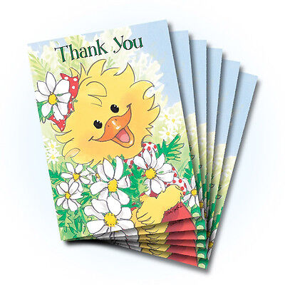 Suzy's Zoo Thank You Greeting Card 6-pack 10360