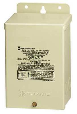 INTERMATIC PX100 Transformer, 1 Phase, 100VA, 12V Out
