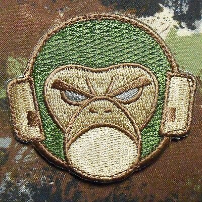 ANGRY MONKEY FACE LOGO TACTICAL COMBAT MILSPEC ARMY MORALE MULTICAM VELCRO PATCH