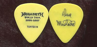 MEGADETH 2006-2007 World Tour Guitar Pick!!! DAVE MUSTAINE custom concert stage