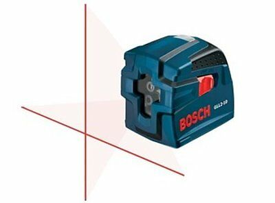 BOSCH GLL2-10 SELF-LEVELING CROSS LINE LASER Level/Plumb +Case BRAND NEW