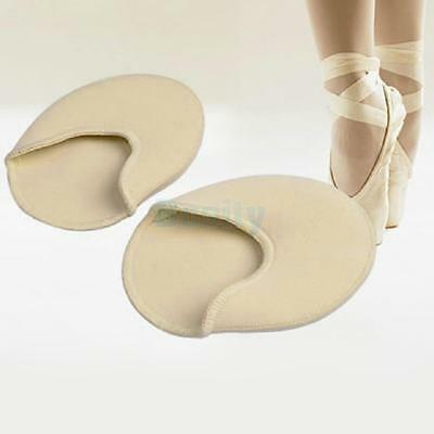 Footful Pair Pointe Ballet Dance Tiptoe Toe Cap Cover Pads Protector Pain Relief