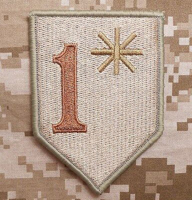 1* ONE ASS TO RISK ASTERISK ASSTERISK ARMY MORALE TACTICAL DESERT VELCRO PATCH