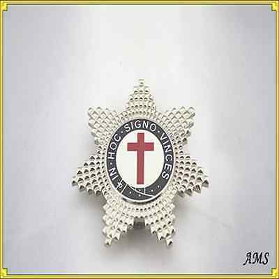 Knights Templar Breast Star Free delivery