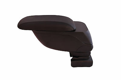 CITROEN C4 2005+ Sliding Eco Leather Black Armrest Arm Rest Centre Console