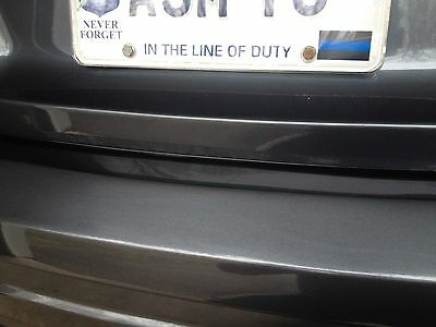 Thin blue line decal sticker POLICE
