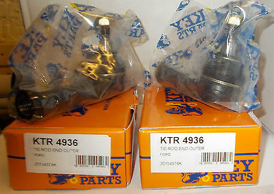 FORD MONDEO 2000 2007 A PAIR OF  FRONT TRACK ROD ENDS KTR4936x2