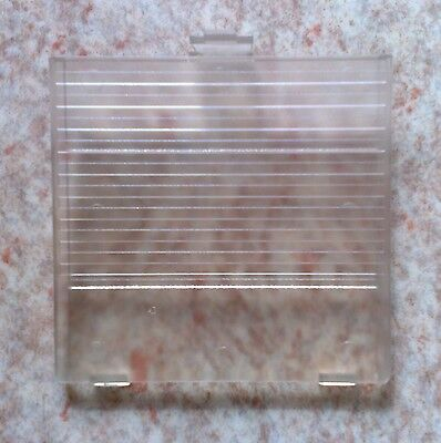 Cache Pile Transparent - NEUF - Game Boy Classic, Grosse Gameboy Battery cover