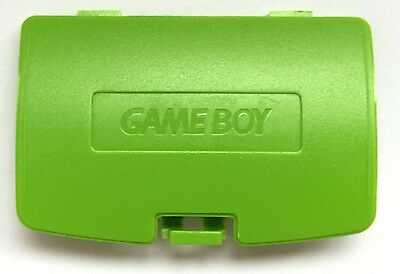 Cache Pile Vert Pomme Kiwi - NEUF - Game Boy Color - Gameboy GBC - Battery Cover
