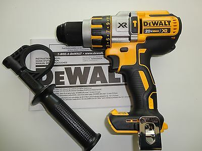 Dewalt 20v 20 Volt Premium Brushless Hammerdrill Driver Li-Ion Model DCD995 New