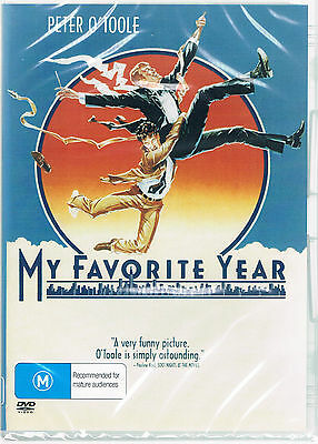 My Favorite Year DVD  ( PETER O'TOOLE )