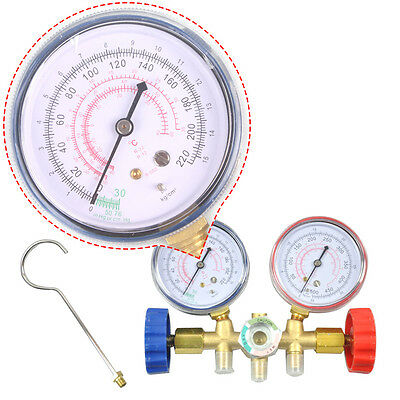 Manifold Gauges Set A/C Tester Service Diagnostic tools Air Refrigeration Tool