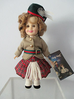 """Shirley Temple Doll """"WEE WILLIE WINKIE"""" by Ideal 1983 8""""  NWOB"""