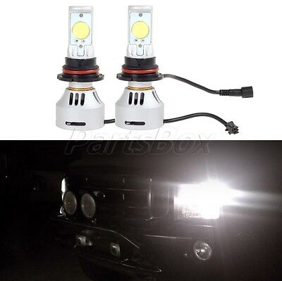 9007 HB5 3200LM Cree Headlamp Dual Beam Super Power HID White Projector LED Bulb