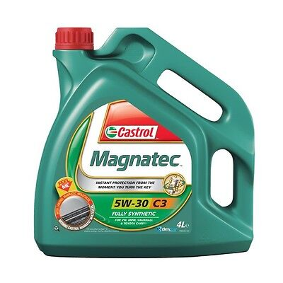 Castrol Magnatec 5W30 C3 GM dexos2 Spec Fully Synthetic Engine Oil 4L 4 Litres