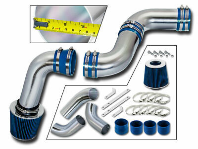 99 00 01-07 CHEVY SILVERADO GMC SIERRA 1500 4.3L V6 COLD AIR INTAKE KIT Blue S