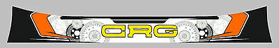 Crg 2014 Style Helmet Visor Sticker/strip - Karting