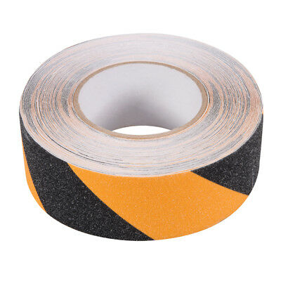 Anti-Rutsch-Tape - Warn-Klebeband - Grip Tape - 50 mm x 18 m, schwarz-gelb
