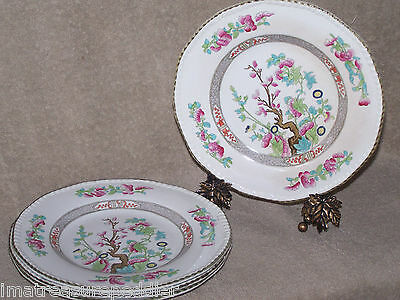 Burgess & Leigh Indian Tree 4 Salad Plates