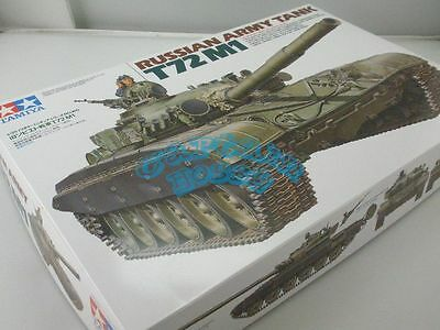Tamiya 35160 Russian Army Tank T72M1 - 1:35 Scale ModelKit CP35160
