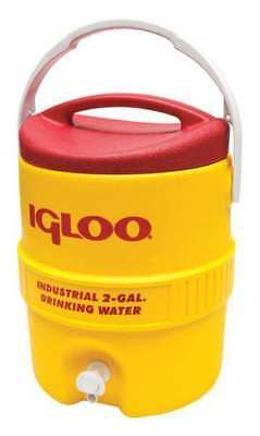 IGLOO 421 Beverage Cooler,2 gal.,Yellow
