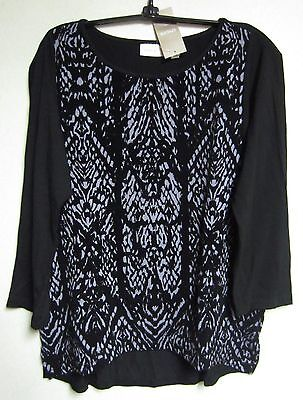 CHICO'S FLOCKED FELICIA TOP PLUM FROST CHICOS SIZE 1 = 8/10 NWT $79