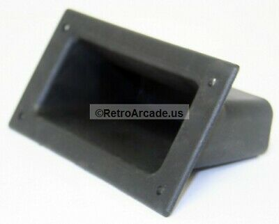 RetroArcade New Black Plastic Arcade Game Cabinet Handle Bar insert for lifting