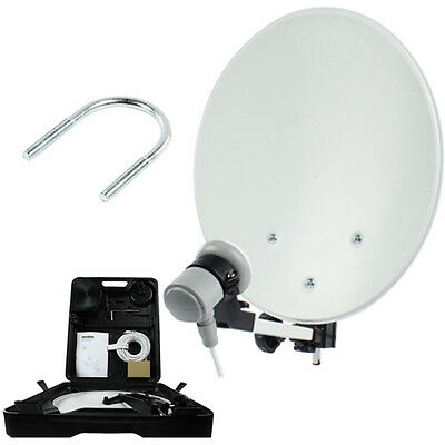 Sky Freesat Satellite Kit Set With 35cm Dish And LNB - Caravan Camping Travel