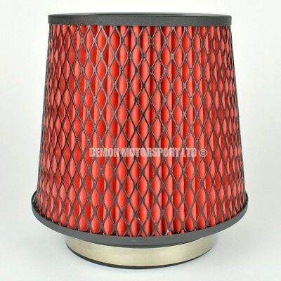 CLEARANCE Air Filter Red For Induction Kit 63mm or Choose Inlet Size (35918)