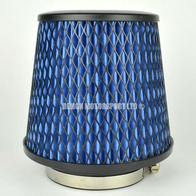 CLEARANCE Air Filter Blue For Induction Kit 89mm or Choose Inlet Size (35927)