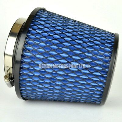 CLEARANCE Air Filter Blue For Induction Kit 76mm or Choose Inlet Size (35927)