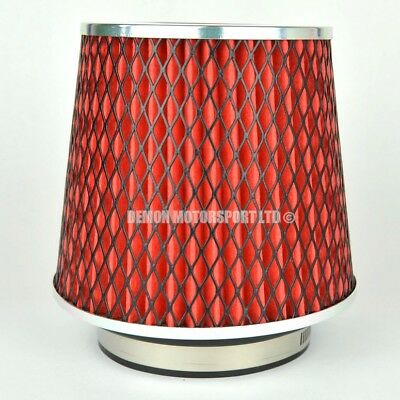 CLEARANCE Air Filter Red For Induction Kit 89mm or Choose Inlet Size (59893)