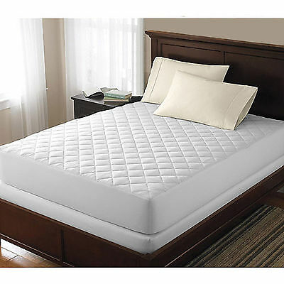 Quilted Mattress cover Bed Bug Dust Mite Allergy Relief Waterproof Pad Protector