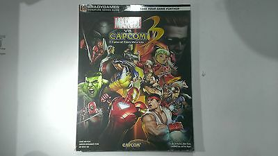 Marvel Vs Capcom 3 Fate of Two Worlds Strategy Guide by BradyGames PS3/Xbox/PC