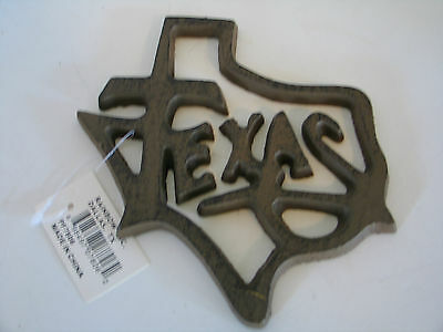 State of Texas w/Texas on the Inside Cast Iron NWT
