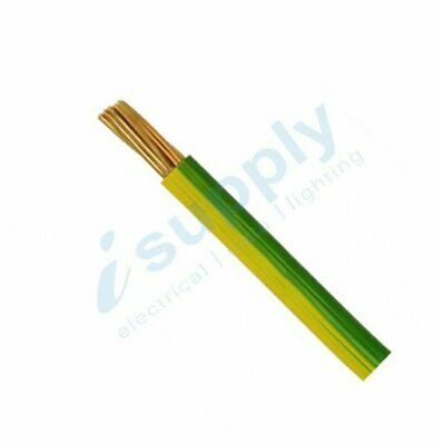 16mm Earth Building Wire Electrical Cable BUY PER METRE !!!
