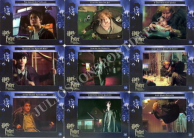 Harry Potter And The Prisoner Of Azkaban Movie Filmcardz Base Card Set Of 72
