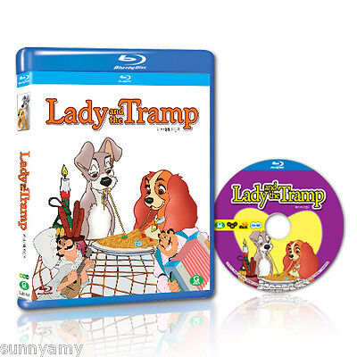 Disney's Classic Lady and the Tramp - Blu ray - Region Free(NEW) A story of love