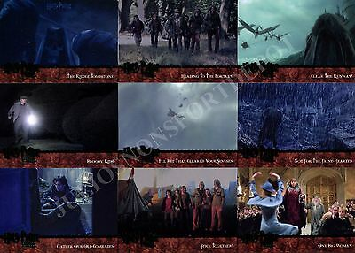 Harry Potter And The Goblet Of Fire Movie Update 2005 Artbox Base Card Set Of 90