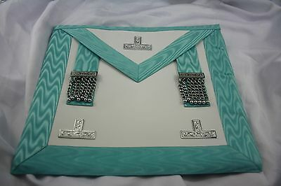 Craft Lodge Worshipful Master Apron  Lambskin Free Delivery