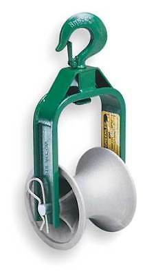 Cable Puller Sheave,Hook,6 In GREENLEE 650