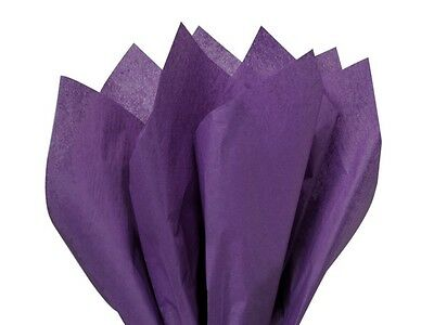 "PURPLE Tissue Paper Sheets 50cm x 75cm - 18gsm  20"" x 30"" Acid Free"
