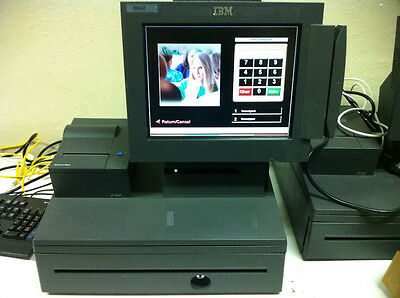 3 Station Complete POS (Point Of Sale) Computer System Micro E7
