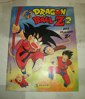 "Album De Cromos Completo ""dragon Ball Z 2"" Panini"
