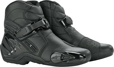 Alpinestars SMX 2 Motorcycle Boot - CLOSEOUT Black 5 38 222408-10-38