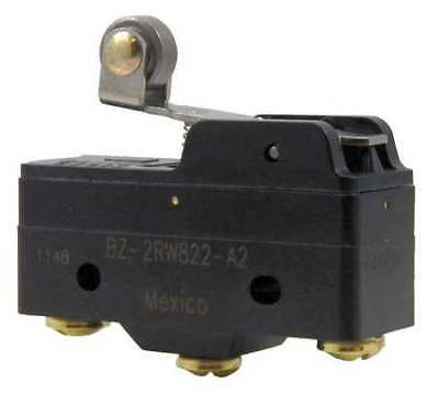 HONEYWELL MICRO SWITCH BZ-2RW822-A2 Lg Unsealed Swch,15A,SPDT,Roller Lever