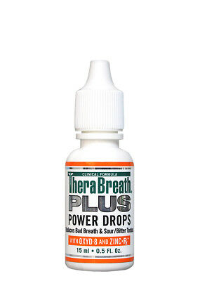 TheraBreath PLUS Power Drops - Extra Strength For Bad Breath & Halitosis